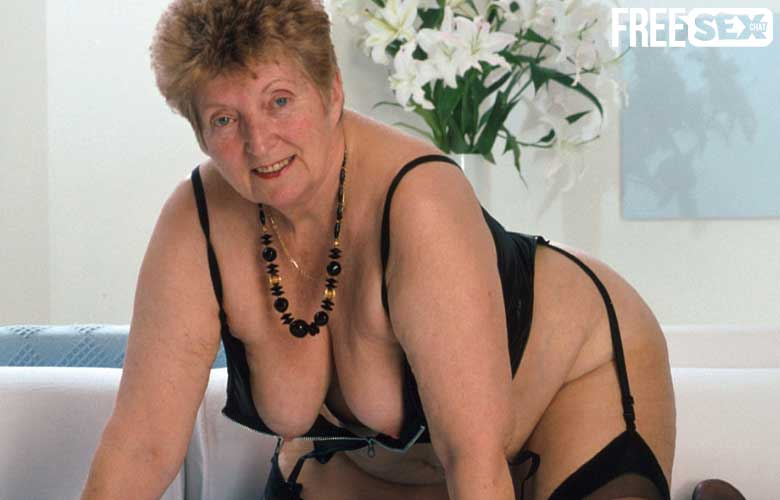 Intense Orgasms with Super-Old Grannies